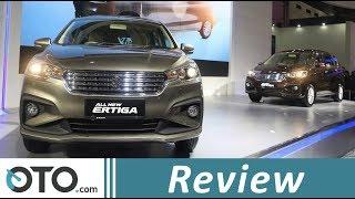 Suzuki Ertiga 2018   Review   Perbedaan Tipe GL dan GX   IIMS 2018   OTO.com