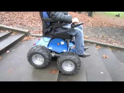 Observer silla de ruedas electrica todoterreno www sillasderuedas es youtube - Ruedas para sillas de ruedas ...