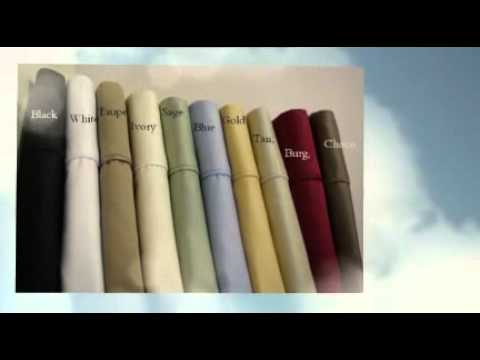 Luxury Bedding Bamboo Sheets Imported Egyptian Cotton Sheets