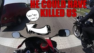 we almost died stupid driver