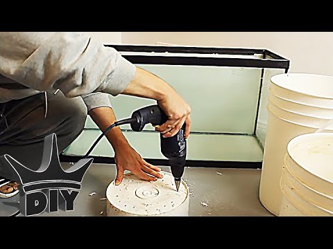 How To Build An Aquarium Sump Cheaply Trickle Tower Wet
