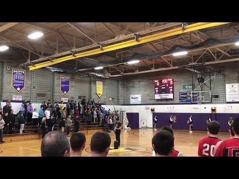 Saratoga Central Catholic High School- National Anthem