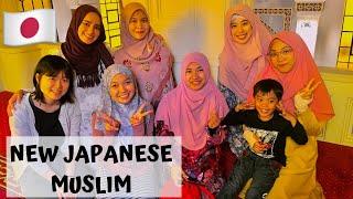 Japanese woman converts to Islam | Kobe Mosque