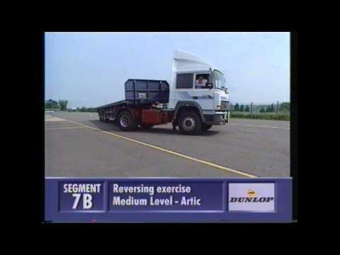 HGV class1 Reversing Exercise for DVSA test