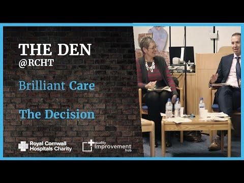 The Den - Brilliant Care - The Decision