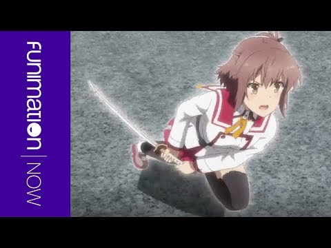 Katana Maidens ~ Toji No Miko - Official Clip - On the Run