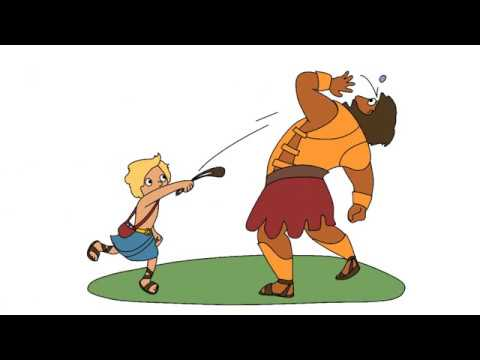David & Goliath | The Bible Story | Animated Version - YouTube | 480 x 360 jpeg 10kB