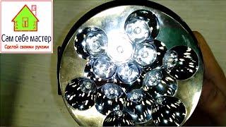 Ремонт светодиодного фонаря / Repair LED lights(Ремонт светодиодного фонаря - видео. Всем привет! В этом видео я хочу рассказать Вам как отремонтировать..., 2015-10-20T19:28:50.000Z)