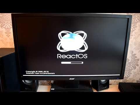Установка ReactOS на современный компьютер