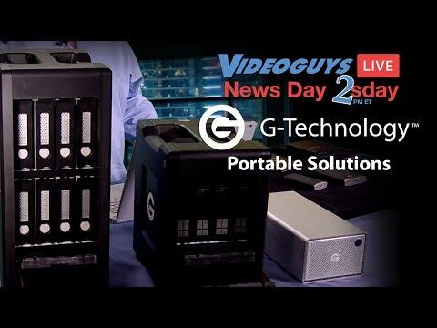 G-Technology Storage Solutions Videoguys Live News Day 2sDay Webinar