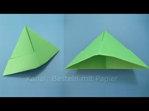 papierhut falten hut basteln mit papier origami. Black Bedroom Furniture Sets. Home Design Ideas