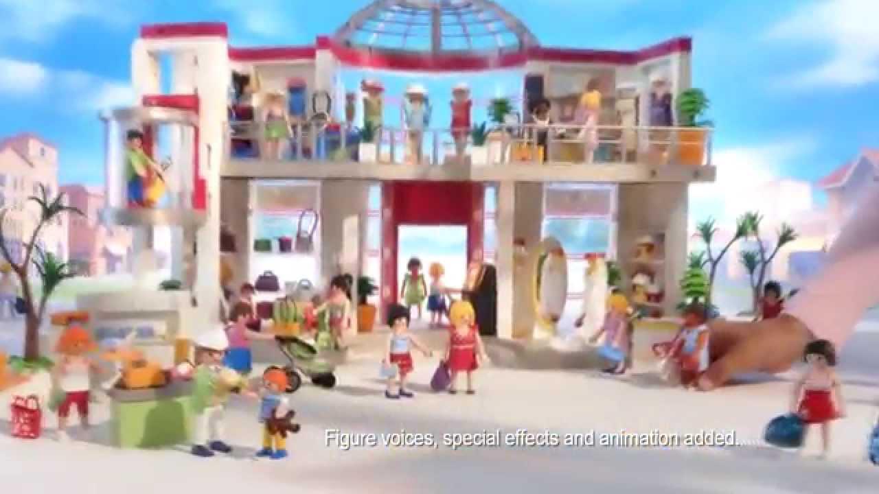 playmobil shopping mall english  canada  youtube