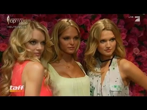 Victoria's Secret-Model Toni Garrn