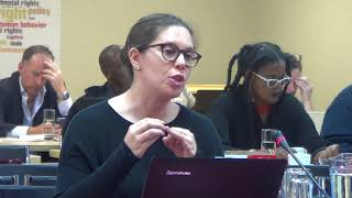 Hate Crimes Working Group Chairperson, Sanja Bornman, SA fails to acknowledge Xenophobia.