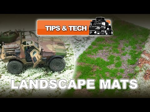 REALITY IN SCALE LANDSCAPE DIORAMA MATS