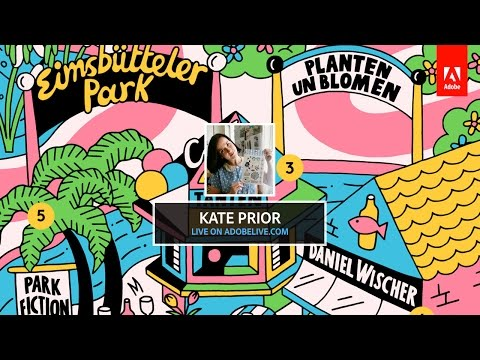 Live Illustration With Kate Prior 2/3 - Hosted By Michael Chaize