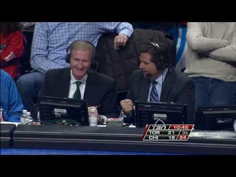 Toronto Raptors Broadcaster Jack Armstrong Makes Two Saves!