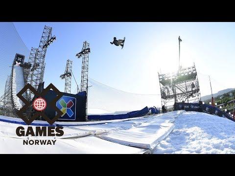 Kokomo Murase wins Women's Snowboard Big Air gold | X Games Norway 2018