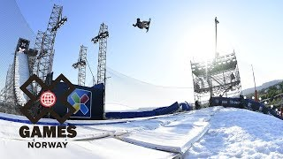 Kokomo Murase wins Women's Snowboard Big Air gold | X Games Norway 2018
