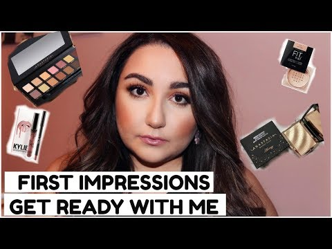 GET READY WITH ME TESTING NEW PRODUCTS // FIRST IMPRESSIONS