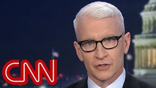 Anderson Cooper: Something must be weighing on Trump