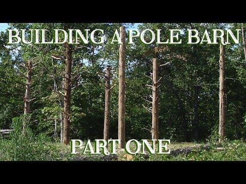 Old-fashioned Pole Barn for the Small Farm, Pt 1 - The Farm Hand's Companion Show, ep 4