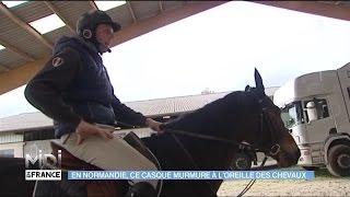 MADE IN FRANCE : En Normandie, ce casque murmure à l'oreille des chevaux