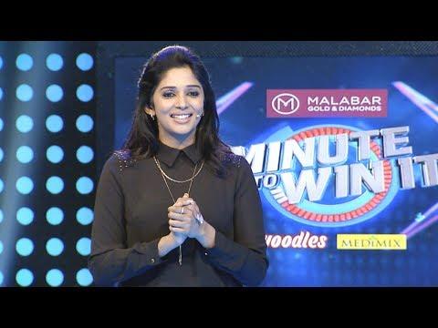 Minute To Win It I Ep 04 -  Vishnu Dev continue? I Mazhavil Manorama