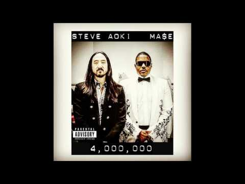 Steve Aoki Featuring Mase NEW SONG 2017   4,000,000 FULL SONG