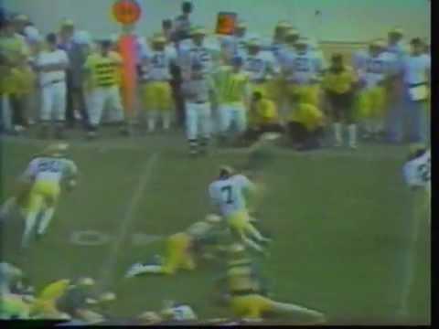 1978: Michigan 28 Notre Dame 14