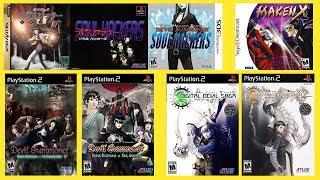 Shin Megami Tensei series overview : Part 2 : Devil Summoner and Digital Devil Saga