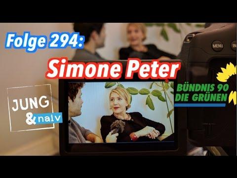 Simone Peter, Parteivorsitzende von Bündnis 90/Die Grünen - Jung & Naiv: Folge 294