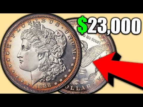 WHY YOU SHOULD INSPECT YOUR SILVER MORGAN DOLLAR COINS CLOSELY!! SILVER DOLLAR COINS WORTH MONEY!!