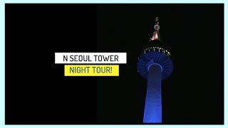 [Must Visit in Seoul] N Seoul Tower Night Tour by Taking Cable Car
