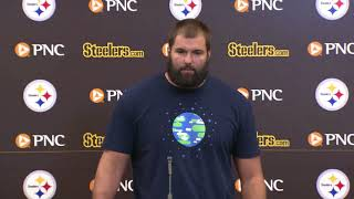 Steelers' Alejandro Villanueva speaks about national anthem stand