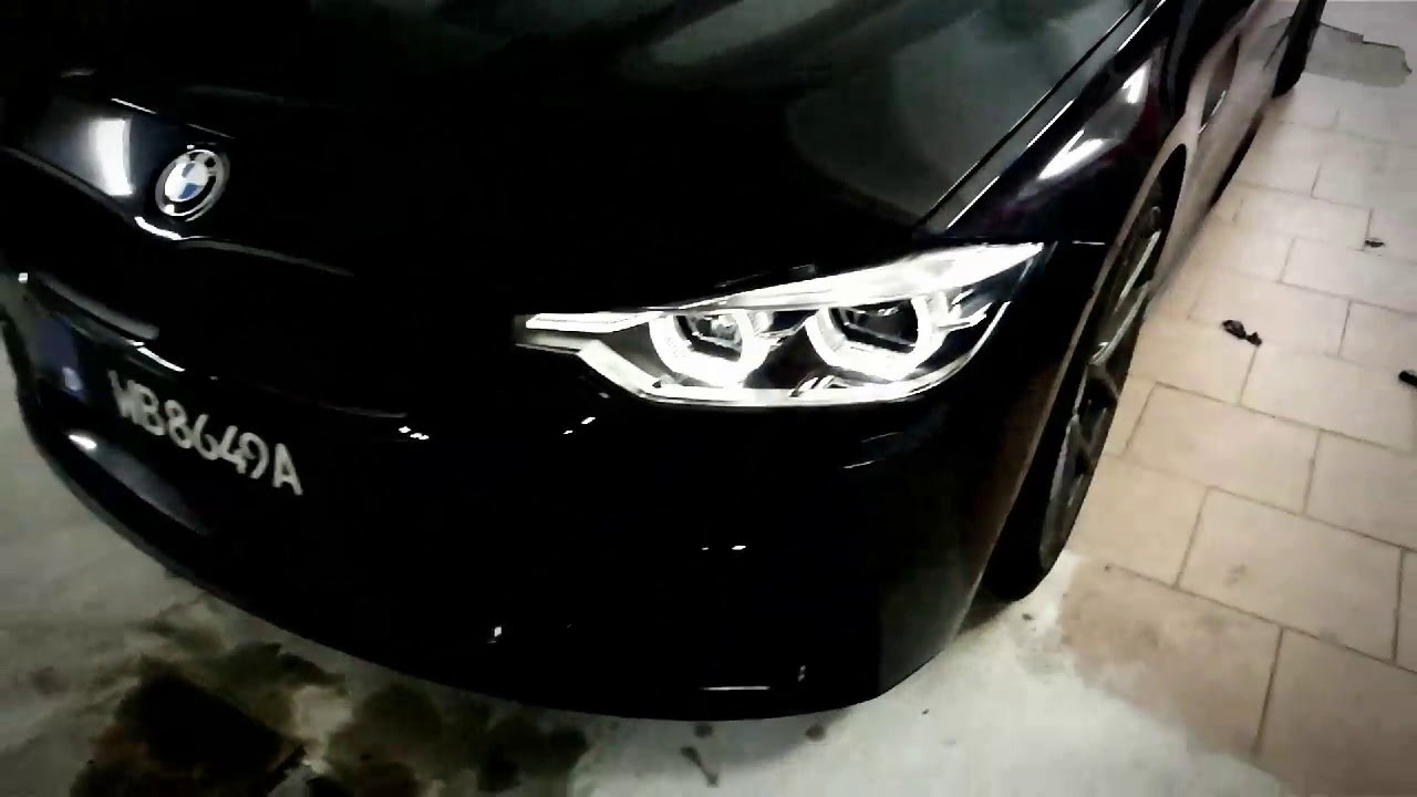 Bmw F30 Lci Led Headlight Retrofit Youtube
