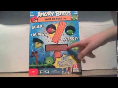Angry Birds: Knock On Wood (Board Game) - An Inside Look ...