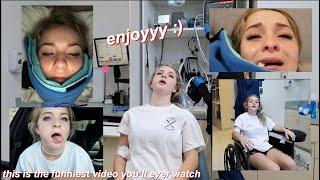 i got my WISDOM TEETH removed **hilarious** (surgery vlog)