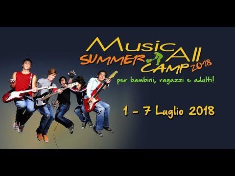 CAMPUS ESTIVO MUSICALE 2018 - Music All Scuola di musica a Roma