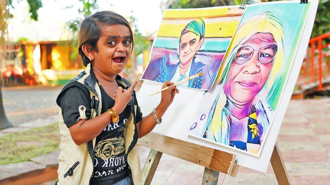CHOTU DADA PAINTING WALA | छोटू दादा पेंटिंग वाला  | Khandesh Hindi Comedy | Chotu Dada Comedy Video