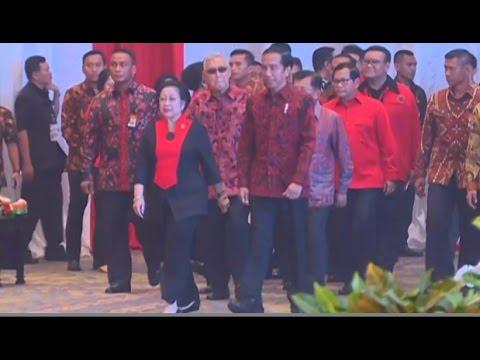 Pidato Jokowi & Megawati di HUT ke-44 PDI Perjuangan (Full)