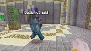 Minecraft Xbox - The Walls - W/iBallistic Squid - Part 1
