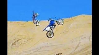 Ocotillo Wells freeride motocross jumps party