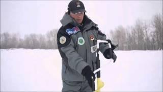 Тестування льодобура ICEBERG-130 (R): забуривание