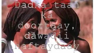 CabdulQaadir Sanka - Dunida adaan kaa rabaa (lyrics)
