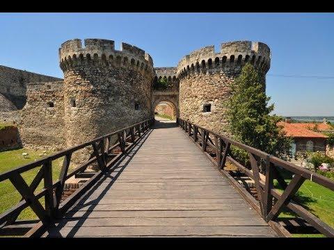 Skopje Fortress (Skopsko Kale) in the center of Skopje, Macedonia
