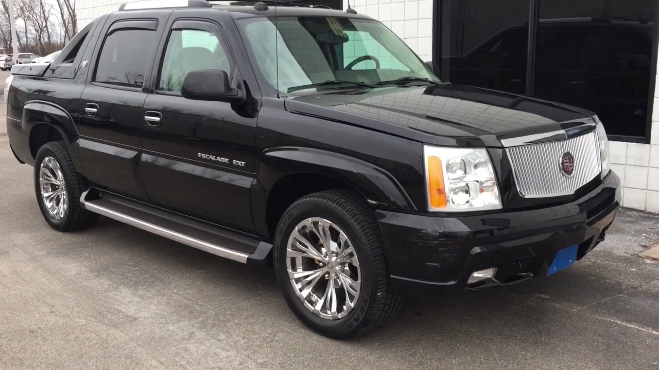 2005 Cadillac Escalade Ext Luxury