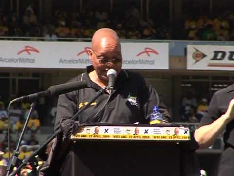 ANC holds massive pre-election rally