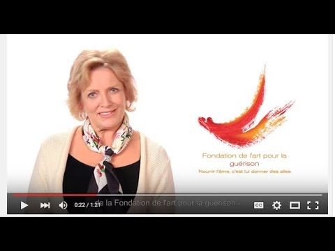 Margaret Trudeau parle au nom de la Fondation de l