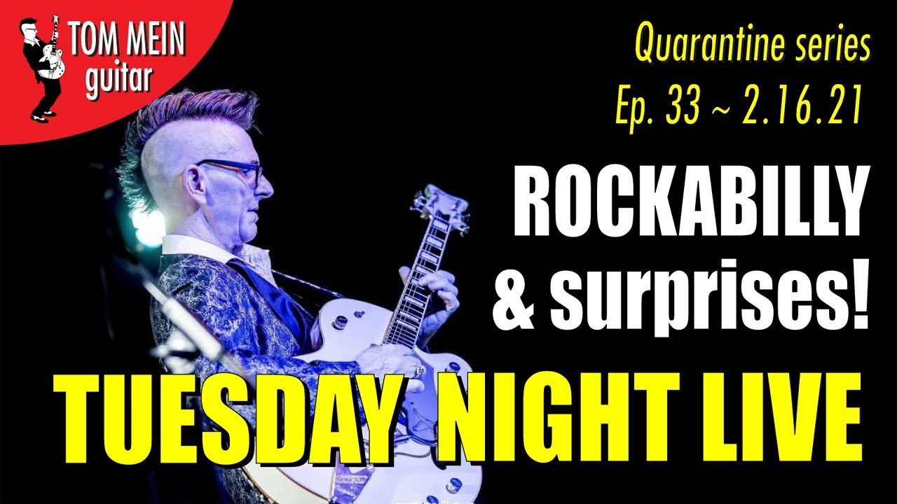 Tuesday Night Live ~ ep 33 ~ ROCKIN & SURPRISES